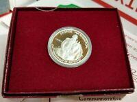 1982 S GEORGE WASHINGTON SILVER Commemorative HALF Dollar Coin OGP BOX COA PROOF