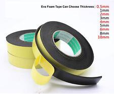 3 Rolls Eva Foam Adhesive Tape Single Sided with 20mm W / 5m L / 0.5mm T