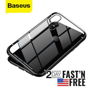 Baseus Metal / Tempered Glass Case for iPhone XS Max