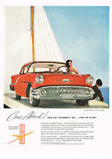 Vintage 1955 Magazine Ad Oldsmobile For An Adventurous New Way Of Going Olds