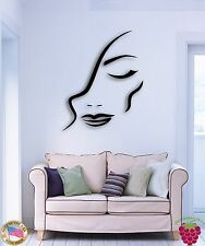 Wall Sticke Beatiful Girl Woman Female Abstract Modern Decor   z1527