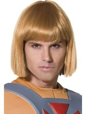 He Man-Prince Adam (Adult) Costume with Wig and Sword - TV Cartoon Character