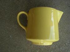 Yellow Stoneware Creamer  USA Pottery  Vintage
