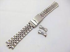 jubilee x rolex doppia chiusura orologi acciaio compatibile ansa curva 20 mm