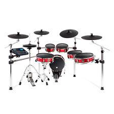 Alesis Strike Pro Electronic E-Drum Kit - Sparkle Red +Picks