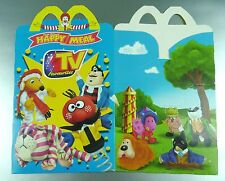 ANCIENNE BOITE HAPPY MEAL McDONALD'S / VINTAGE TOY BOX / TV FAVOURITES