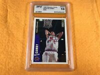 B3-63 BASKETBALL CARD - MARCUS CAMBY ROOKIE RAPTORS - 1996 UPPER DECK - GRADE 10