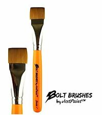 """BOLT Face Painting Brushes by Jest Paint - 1"""" Stroke"""