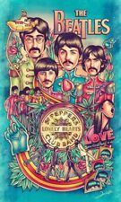 """The Beatles Poster Photo Fridge Magnet Collectible Size2""""x 3"""""""
