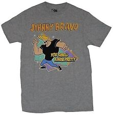 Cartoon Network Johnny Bravo You Smell Kinda Pretty Adult T-Shirt X-Large