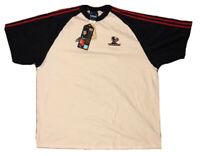 Houston Texans Adidas Team NFL On Field Logo T-Shirt NWT Made in USA - Men's 3XL