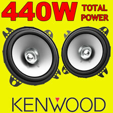 KENWOOD 440W TOTAL 4 INCH 10cm DUALCONE CAR DOOR/SHELF COAXIAL SPEAKERS NEW PAIR