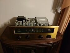 Fisher 101-R Tube FM-AM Powers on - No Sound