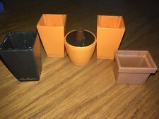 Playmobil Empty Plant Pots X 5