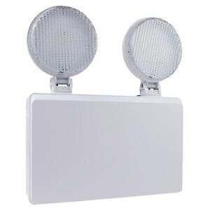 3hr Emergency Twin Spot Light Spotlight Floodlight LED Commercial Non-Maintained
