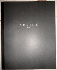 Vintage Celine catalog Fall 2008 fashion bags shoes womens vogue models elle