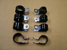 Vintage Car Wiring Harness Cable Clamps Set