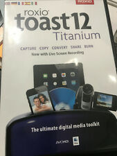 Roxio Toast 12 Titanium - Software - Digital Media LIVE VIDEO SCREEN RECORDING