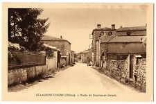 CPA 69 - SAINT LAURENT D'AGNY (Rhône) - Route de Soucieu-en-Jarrest