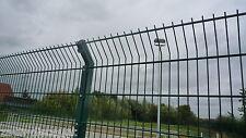 Doppelstabmatten 90m 1430mm anthrazit Mattenzaun Gittermatten Stahlgitterzaun