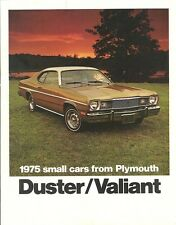 1975 Plymouth Duster/Valiant Brochure Gold Duster/Scamp