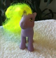 Vintage My Little Pony G-1 YUM YUM ~ Flutter Pony With NO Wings