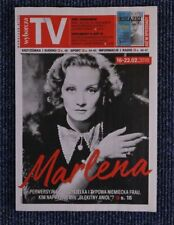 MARLENE DIETRICH mag.FRONT cover Poland Joel Kinnaman, Tom Hardy, Richard Dormer