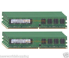 10GB 10X 1GB DDR2 PC2-5300 2RX8 667MHz 240PIN For Dekstop RAM DIMM Memory #NWS