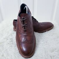 BARKER Creative Collection Mens Brown Brogue Shoes UK Size 11 F Loake Grenson