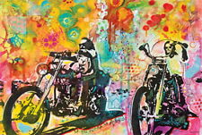 103873 Easy Rider By Dean Russo Art Decor LAMINATED POSTER FR