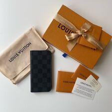 Genuine Louis Vuitton iPhone X XS Folio Phone Case Graphite Damier