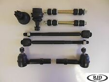 New suspension-steering kit 2 lower joints 2 inner 2 outer tie rods 2 sway bars