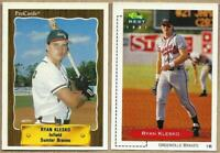 1990 - 1991 RYAN KLESKO Rookie Cards MINOR LEAGUE - Classic Best & ProCards