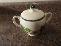 Vintage Sugar Bowl & Lid Ivy by FRANCISCAN (Made in California)—FREE SHIPPING