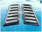 Focus RS ST Style Decorative Bonnet vent *No Cutting Required* Universal Black