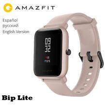 English Version Xiaomi Huami Amazfit Smart Watch Bip Lite Bip 2  Heart Rate Pink