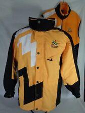 2002 Olympics Jacket & Fleece Vest Salt Lake Paralympics Ski Coat Adult SZ XS