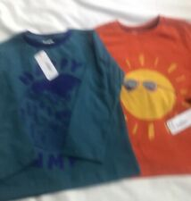 Gymboree Toddler Boy Lot Of 2 Long Sleeve Tops 2T NWT