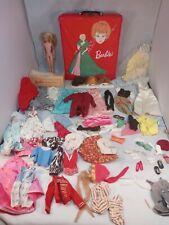 1963 Red Barbie Ponytail Case Skipper Doll Wigs Accessories