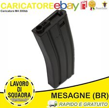 CARICATORE SOFTAIR M4 IN METALLO DA 300BB NERO AIRSOFT Militaria