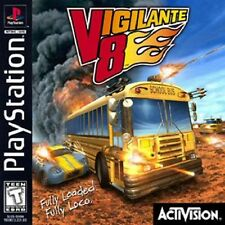 Vigilante 8 - PS1 PS2 Complete Playstation Game