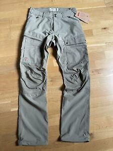FJÄLL RÄVEN M Abisko Midsummer Trousers Regular 44 savanna light olive Hose Rech