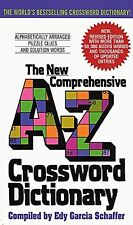 New Comprehensive A-Z Crossword Dictionary...New  Free Shipping