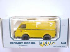 """Renault 1000 kg van camionnette furgonetas """"PTT"""" suisse post, Macadam en 1:43!"""