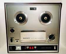 Vintage 80's Sony Reel To Reel Stereo Recorder Tapecorder TC-560D Cabinet Japan