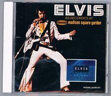 ELVIS PRESLEY AS RECORDED AT MADISON SQUARE GARDEN CD F.C. NUOVO SIGILLATO!!!