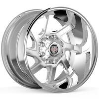 "4-Centerline 838C LT3 Eliminator 20x9 8x170 +18mm Chrome Wheels Rims 20"" Inch"