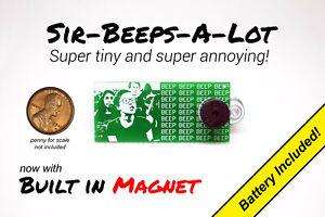 Annoying Beeping Office Prank Joke Noise Maker Annoy-A-Tron Cricket w/ Magnet