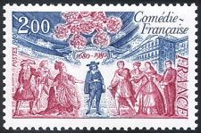 France 1980 Comedie-Francais/Theatre/Acting/Actors/Buildings/People 1v (n43371)