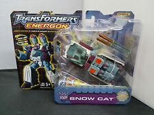 Transformers Energon Snow Cat NOSC Powerlinx Hasbro 2004 New